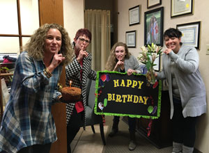 Cothern Team celebrates birthday
