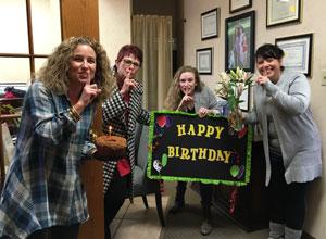 Cothern Team celebrates birthday